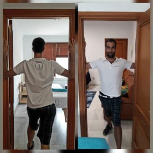 CostaSpine Demonstrates Pectoral Stretch