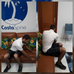 CostaSpine Demonstrates Rhomboid Stretch
