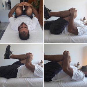 CostaSpine Demonstrates Stretching Sacro-Iliac Joint