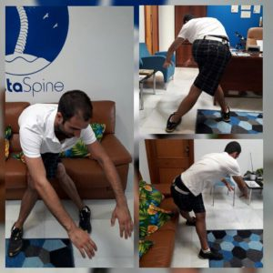 CostaSpine Demonstrates ITB Stretch