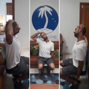 CostaSpine Demonstrates Upper Trapezius Stretch